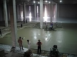 Topping Slab Floor Construction