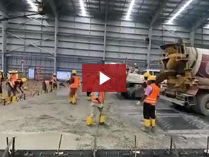 CoGri Asia's Construction of SFRC slab